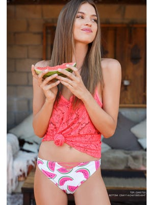 Summer 2017 will see a lot of watermelon prints on everything from swimsuits to beach towels.