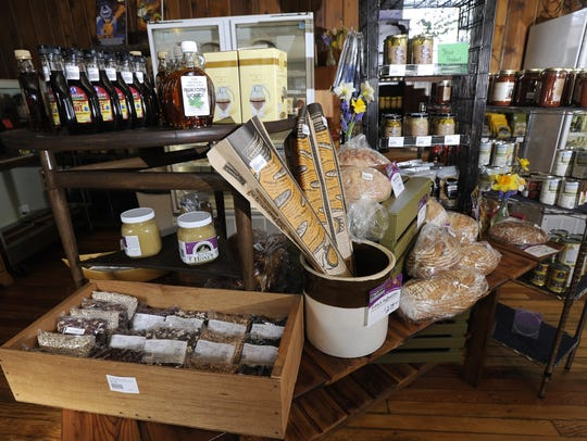 The Old Town General Store has plenty of Michigan foods