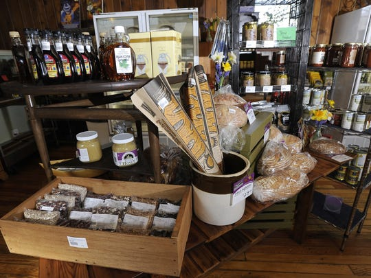 The Old Town General Store has plenty of Michigan foods and Michigan-themed gifts for last-minute shoppers.