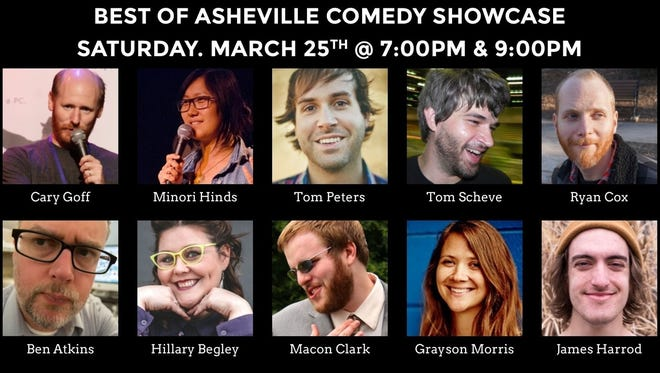 Check out the best names in Asheville comedy on March 25.