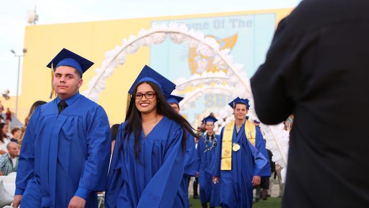 West Shores High School graduation 2016