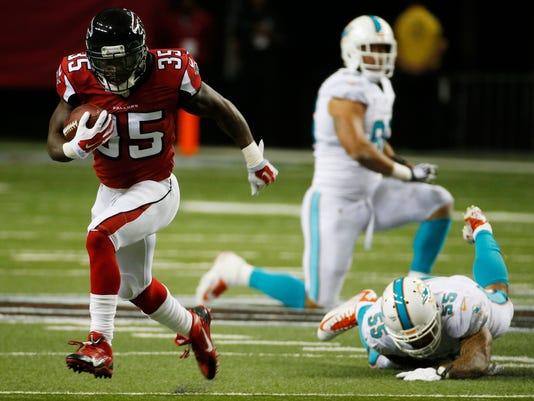 Falcons Smith Surprise Football
