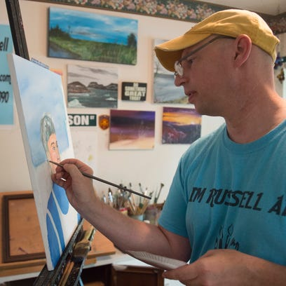Mental health, arts funding, gun laws are on retired cop's mind this election year