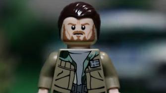 Lego Arnold Schwarzenegger from 'Maggie'