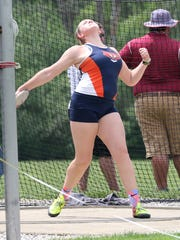 Galion senior Briana Streib is headed to state for the first time in the discus after battling back from shoulder surgery.