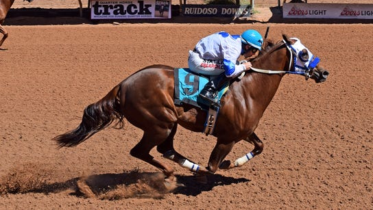 High Rate of Motion earned a spot in next month's Ruidoso
