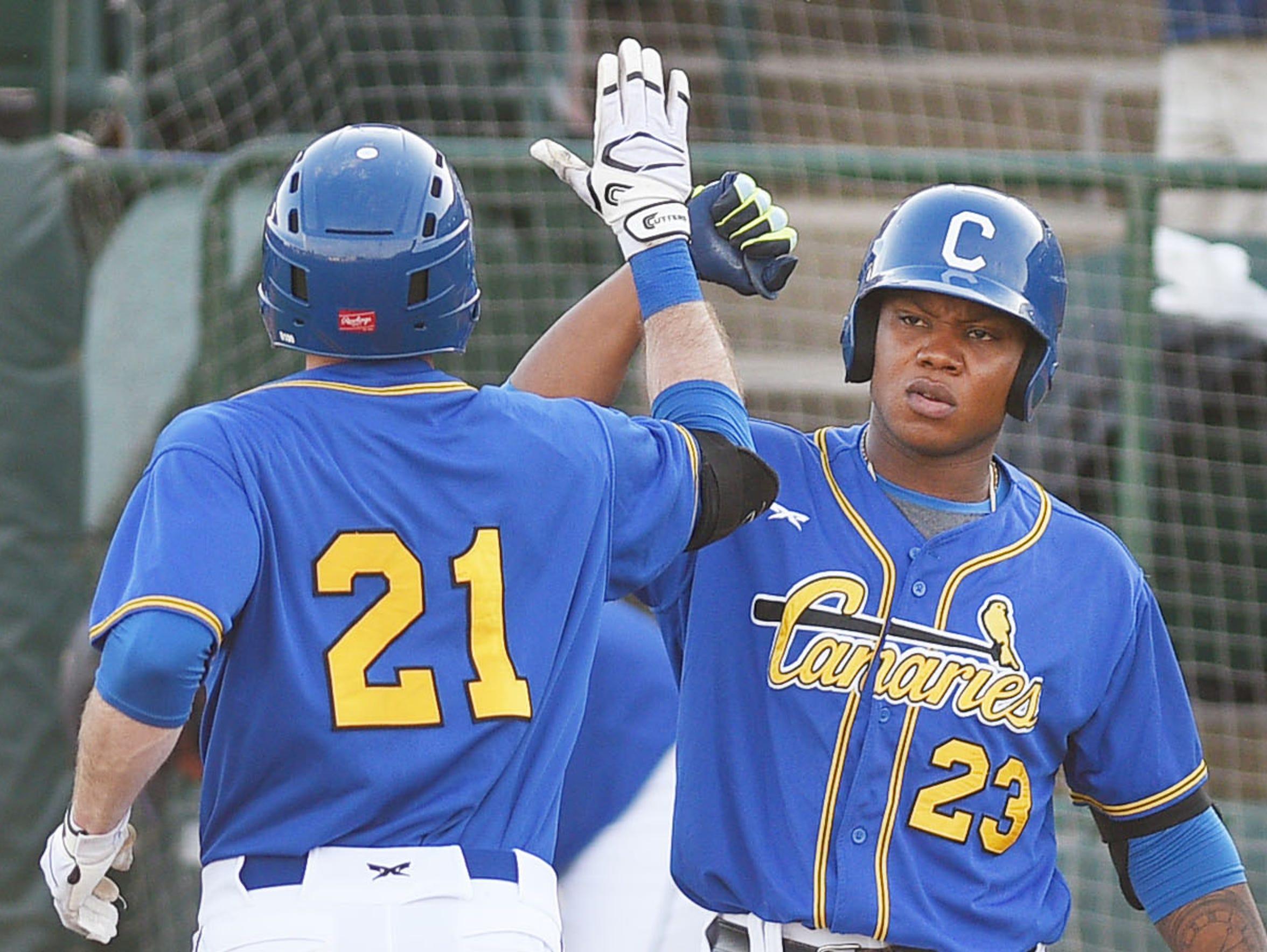 Canaries baseball at the Birdcage provides summer entertainment