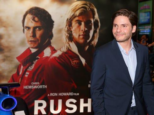 Daniel Bruhl at the Australian premiere of 'Rush'