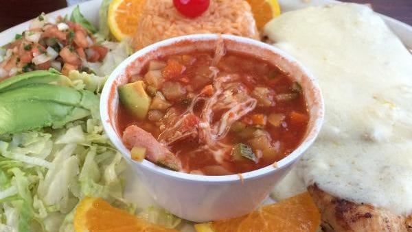 A dish at El Mariachi