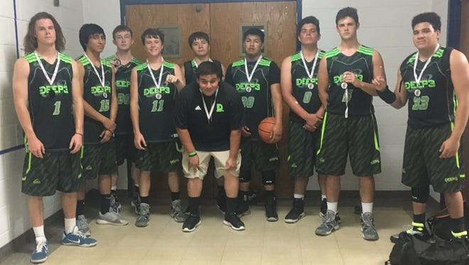 The Deep 3 boys basketball team won last weekend's Mountain Mayhem tournament at West Henderson.