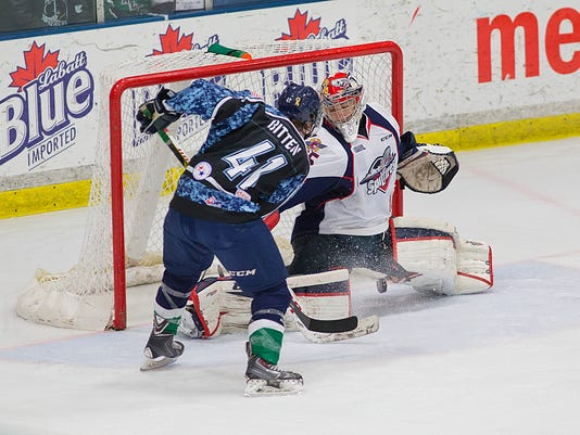 OHL Windsor Spitfires vs Plymouth Whalers