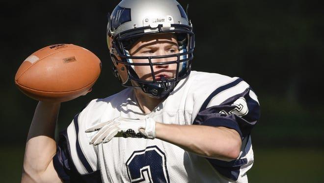 Eden Valley-Watkins senior quarterback Reese Jansen is helping lead the Eagles to the Prep Bowl.