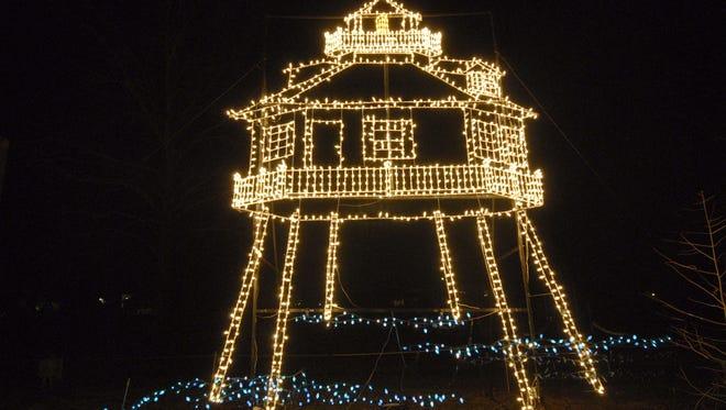 The Winter Wonderland of Lights