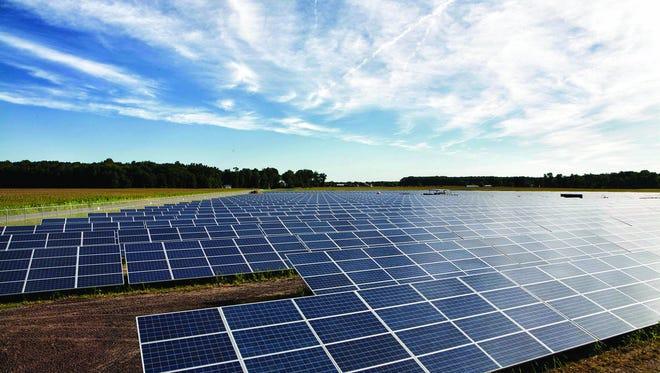 Delaware Electric Cooperative solar farm near Georgetown, Del.