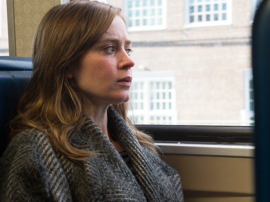 "Emily Blunt stars in the mystery ""The Girl on the Train."""