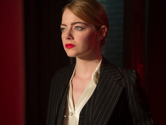"Emma Stone is aspiring actress Mia in ""La La Land."""