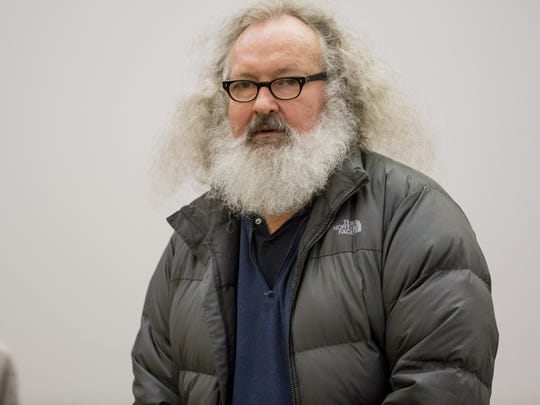 Randy Quaid appears in Franklin County Superior Court in St. Albans, Vermont on Monday, October 12, 2015.