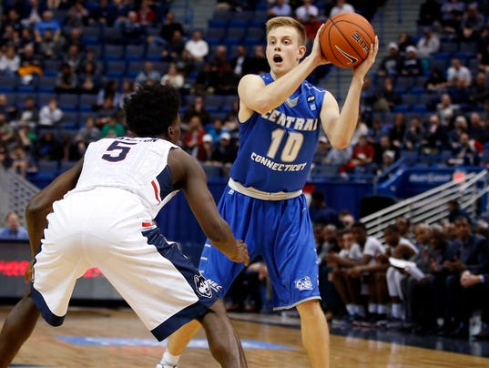 NCAA Basketball: Central Conn. State at Connecticut