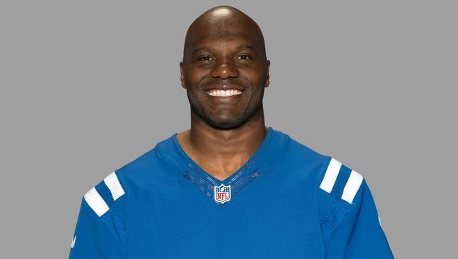 Colts linebacker D'Qwell Jackson