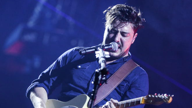 Marcus Mumford will perform with Mumford & Sons on April 24 at Bankers Life Fieldhouse.