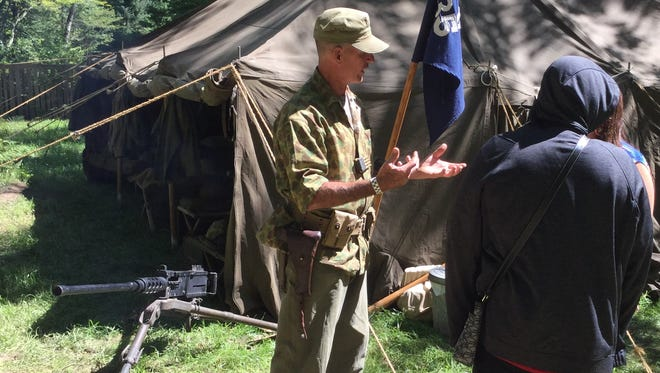 Scenes from the Central Wisconsin Military Show held Saturday at Motorama Auto Museum near Aniwa.