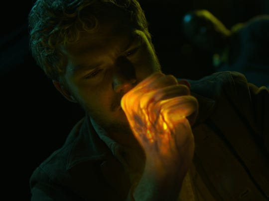 Iron Fist (Finn Jones) prepares to unleash the fury