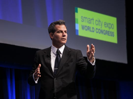 Author and academic Richard Florida at a recent Smart City World Expo Congress