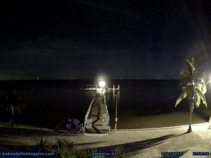 Webcam images show a full day Wednesday (9/2/2015)