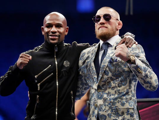 Floyd Mayweather and Conor McGregor
