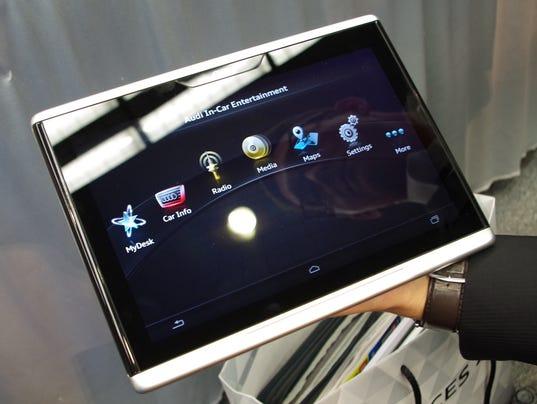 Mobile Audi Smart Display
