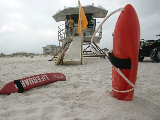 Pensacola Beach lifeguards
