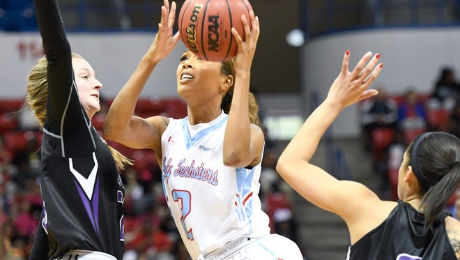 Louisiana Tech senior Rochelle Vasquez, pictured in a game earlier this year, said the Techsters have build a strong foundation for the future following a trip to the Conference USA Tournament semifinals.