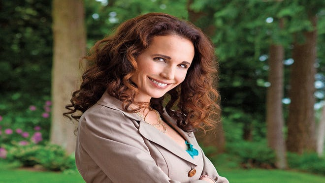 Andie MacDowell hits Twitter turbulence after being bumped