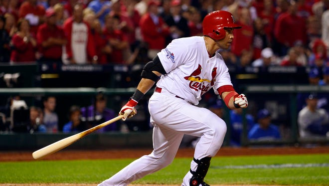 Carlos Beltran hit .296 with 24 home runs in 145 games this season with the Cardinals.