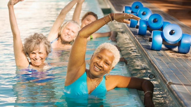 Exercise can contribute to a reduced risk of Alzheimer's.