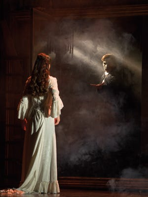 """A scene from """"The Mirror,"""" one of many memorable musical numbers in Cameron Mackintosh's new production of """"The Phantom of the Opera."""""""