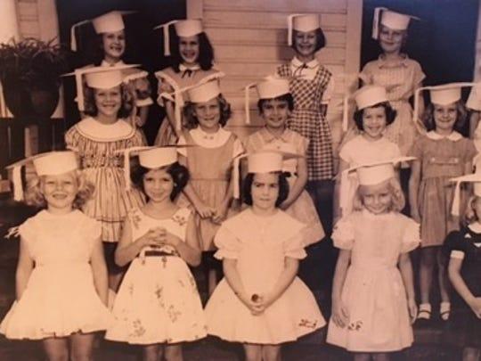Fort Myers native Beverley Bass, pictured in kindergarten