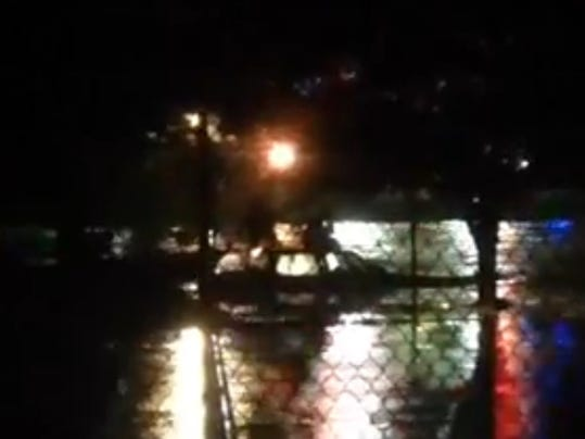 dog walker witnesses midnight rescue in cleveland park