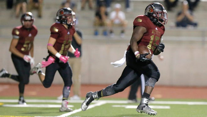 El Dorado shut out Montwood, 28-0, on Thursday night at the Socorro Student Activities Complex.