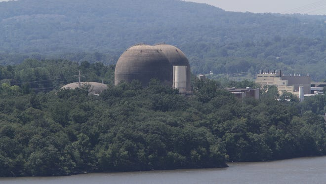 A view of the Indian Point nuclear power plant, from Peekskill in August.