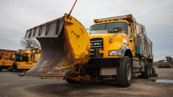 Each PennDOT snowplow has at least an 11-foot wide front plow.