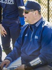 Morris Catholic head softball coach Nick DeGennaro