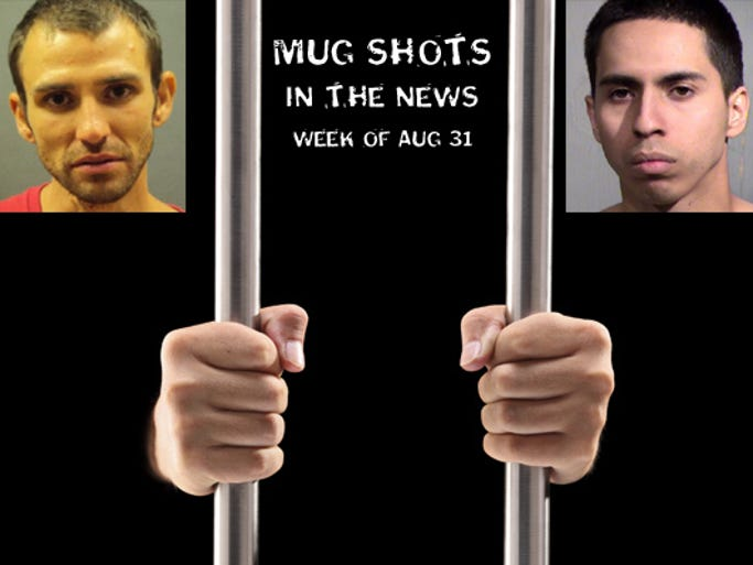 Mug shots in the news