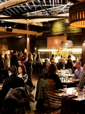 At Young Joni, James Beard Award-nominated chef/owner Ann Kim serves creative pizza and entrees in a spacious yet cozy atmosphere.