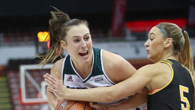 UWGB's Mehryn Kraker said playing the Horizon League tournament at a neutral site was exciting for her team.