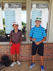 Westland's Troy Watson (left) finished first and New