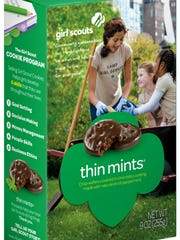 Give blood, get cookies. Indiana Blood Center donors will get a box of Thin Mints in exchange for a unit of blood on Thin Mint Thursdays.