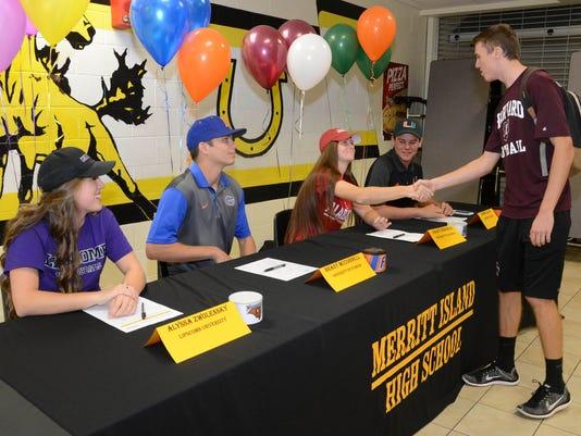 Signing Day: Merritt Island High