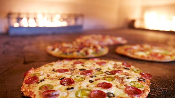 Pieology's pizzas are custom-made as they're ordered.