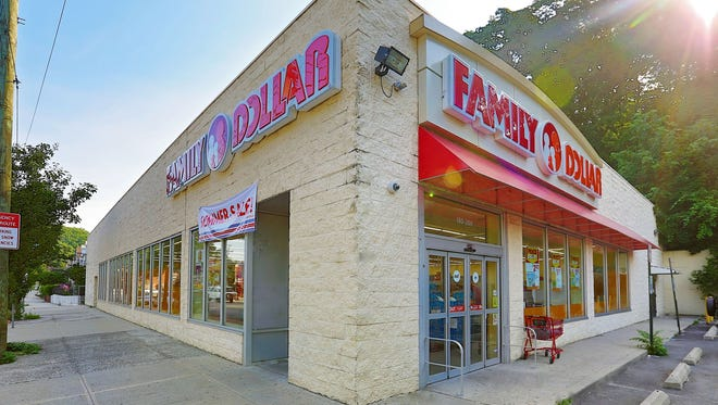 A Family Dollar store at 180 McLean Ave. in Yonkers.